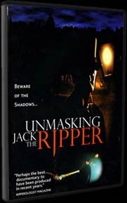 The Cover for our DVD Unmasking Jack the Ripper.