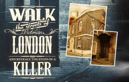 Collage of images from the Jack the Ripper Tour.