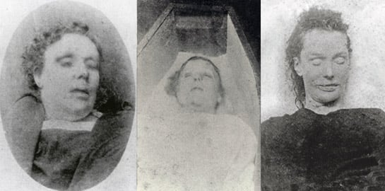 the list of angels murdered by jack the ripper Jack the ripper was an unidentified serial killer who brutally murdered at least five ladies of the night in london's east end in 1888 the mystery has led to numerous theories as to the.