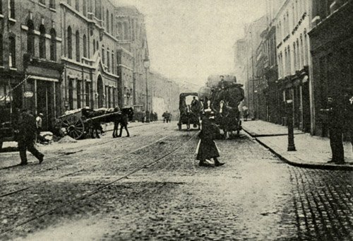 A photograph of Commercial Street.