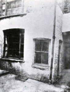 A view of the room where Mary Kelly, Jack the Ripper's last victim, was murdered.