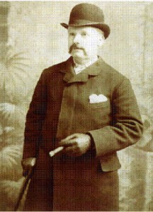 """A photo of Mr George Lusk who received the infamous """"From Hell"""" letter."""