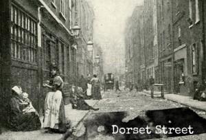 Dorset Street, where Mary Kelly lived.
