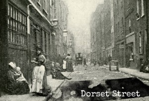 Dorset Street, where Mary Kelly lived.