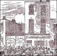 An illustration showing Dutfield's Yard.