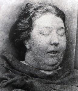 Martha Tabram's mortuary photograph,
