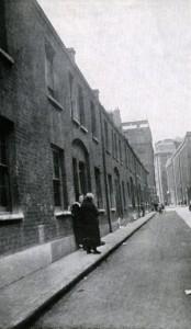 Durward Street, formely Buck's Row, Mary Nichols murder site.