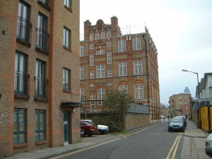 Durward Street where the first Jack the Ripper Murder, that of Mary Nichols, took place on 31st August 1888.