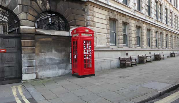 The Sherlock Phone Box
