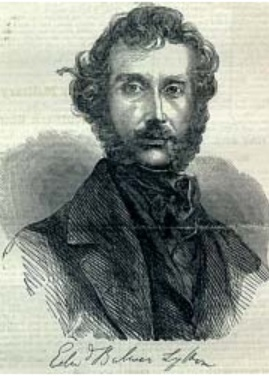 An image of the Victorian novelist Edward Bulwer-Lytton