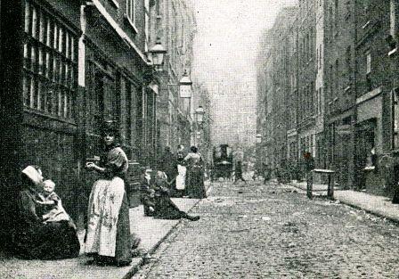 Dorset Street in 1901