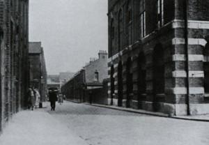 A view looking East along Durward Street.