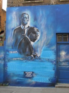The Kray's Legend located just off Brick Lane.