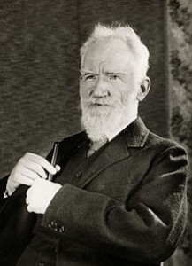 An image of George Bernard Shaw