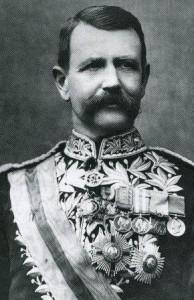 An image of Metropolitan Police Commissioner Sir Charles Warren.