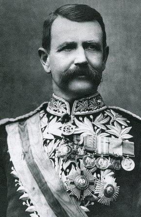 An image of Metropolitan Police Commissioner Sir Charles Warren.