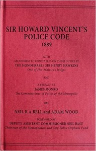 The red front cover of Howard Vincent's Police Code