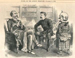 A Punch Cartoon showing Sir Charles Warren.