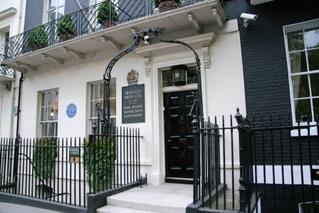 The exterior of 50 Berkeley Square.