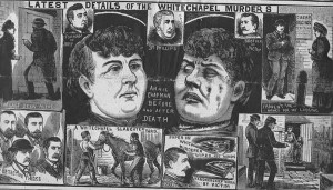 An images of Annie Chapman from the Illustrated Police News which purports to show her before and after her murder.