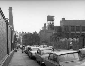 A view along Phoenix Place in the 1960's