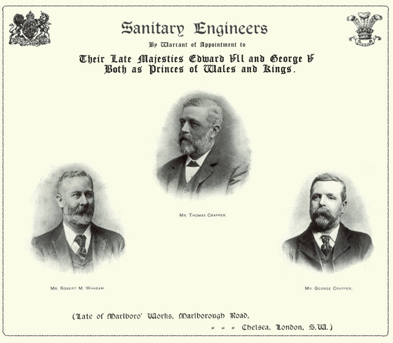 a history of the toilet invention by thomas crapper Did thomas crapper really invent the toilet: the inventions that changed our homes and our lives thomas crapper a seedy history of the vexing victorians.