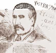 A sketch of Mary Kelly's landlord John McCarthy,