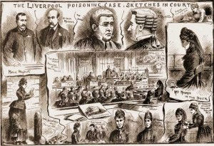 Illustrated Police News Coverage of the trial of Mrs Florence Maybrick.