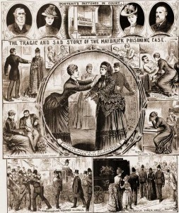 An illustrated police article on the James Maybrick Case.
