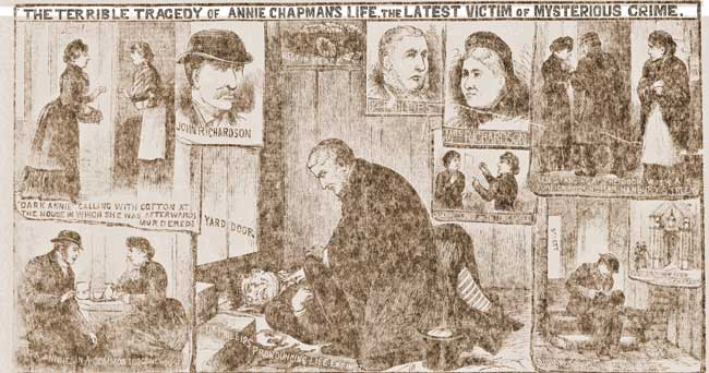 More mages on the murder of Annie Chapman.
