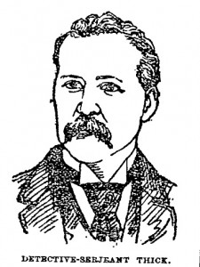 A sketch of Sergeant William Thick.