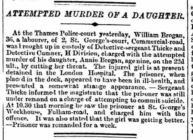 An article about Segeant William Thicke in the Morning Post.