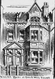 An illustration showing the exterior of 126 Portway.
