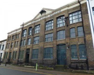 An exterior view of the Ragged School Museum.