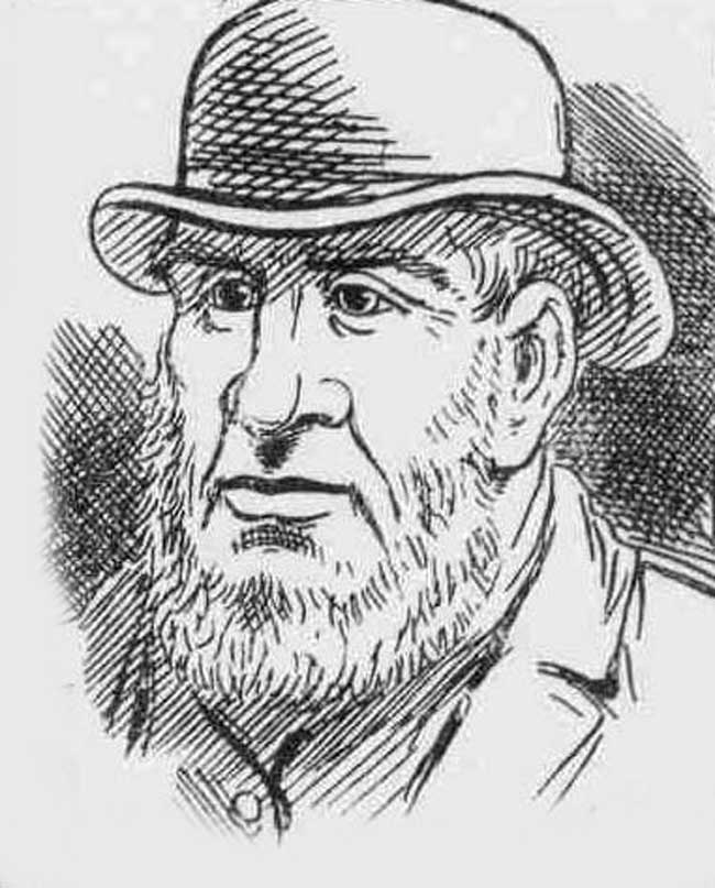 An image of Smaeul Roberts in a bowler hat and with a beard.