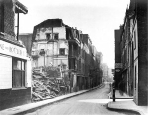 A view Along White's Row Spitalfields