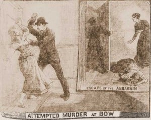 A press image showing the attack on Ada Wilson.