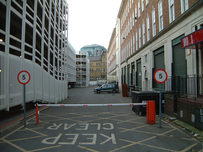 A view along Dorset Street in 2002.