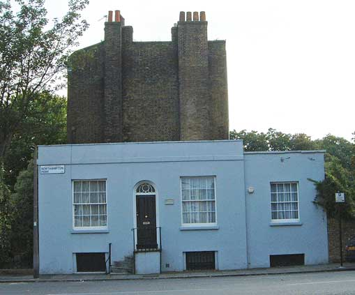 An external view of the cottage in which Ellen Ternan lived.