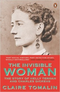 The front cover of Claire Tomalin's book The Invisible Woman.