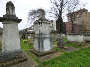 The family grave of the Llewellyn family.