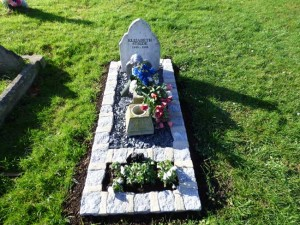 A view of the grave of Elizabeth Stride.
