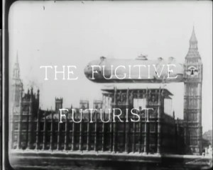 The title sequence of the film shows an air shop docked alongside big Ben.