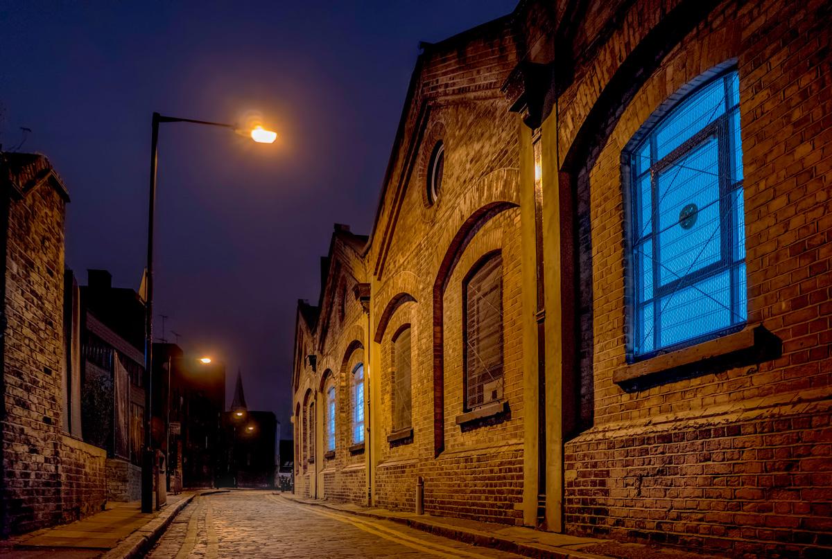 Looking along Gunthorpe Street.