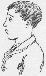 A newspaper sketch of Robert Coombes.