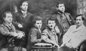 The Yiddish Theatre Troupe.