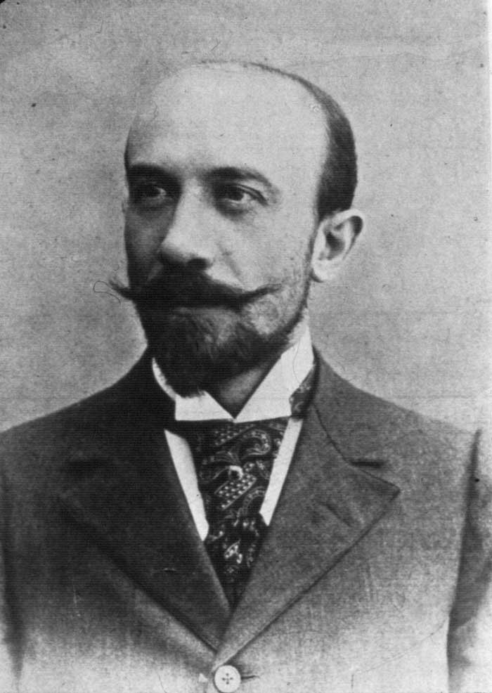 A photograph of film maker Georges Melies