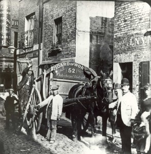 Collectors in Old Montague Street.