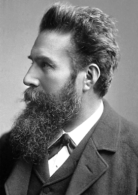 An image of Wilhelm Rontgen