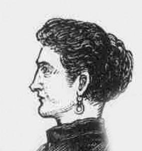 A sketch of Mrs Lipski the landlady.